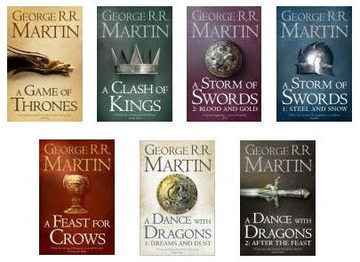 Game of Thrones entire novel series